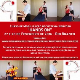 Curso de Mobilização dos Sistema Nervoso (NEURAL) – Rio Branco – Acre